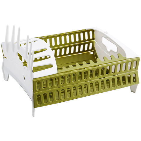 Foldable Dish Drainer Storage For Kitchen Drainer Bowl Tableware Plate Creative Cup