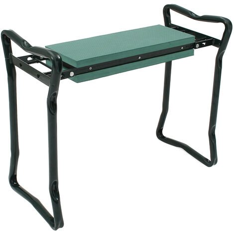 Foldable Garden Seat, Kneeling Garden Bench , Green, Deployed size: 62 x 48 x 28 cm