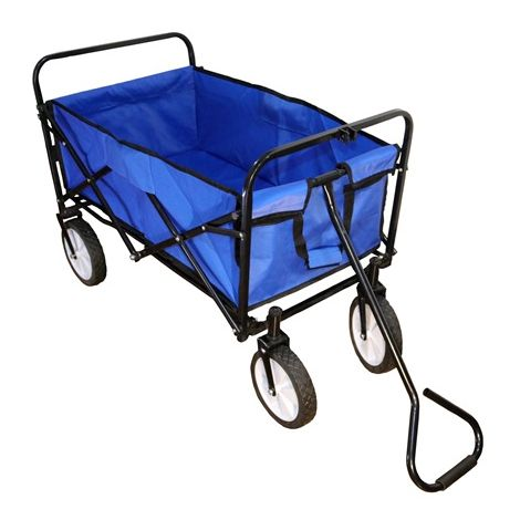 Foldable Garden Trolley GTF01 Blue