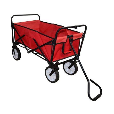 Foldable Garden Trolley GTF01 Red