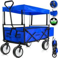 Foldable Handcart Roof Pull Wagon 77cm x 45cm x 28cm
