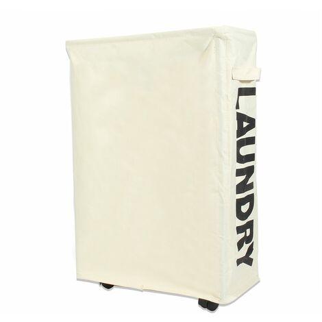 Foldable laundry basket 39X18.5X56cm
