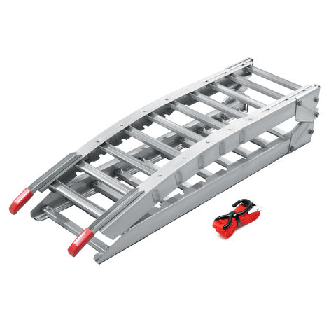 Foldable loading ramp scooter ramp ATV Quad portable steel 84x12 inches 700lbs (212cm 315kg)