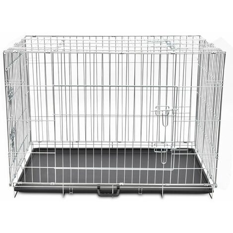 Foldable Metal Dog Bench XL QAH06935
