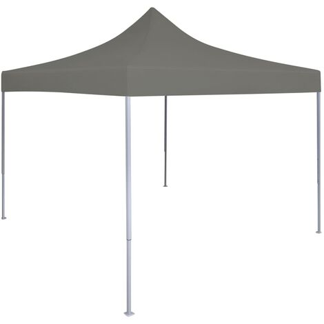 Foldable Party Tent Pop-Up 3x3 m Anthracite