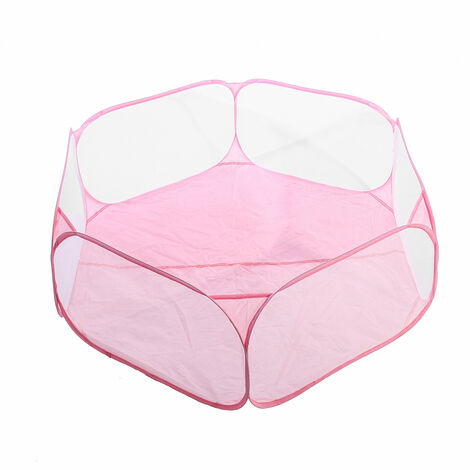 Foldable Pet Playpen Indoor Outdoor Small Cage Tent Fence