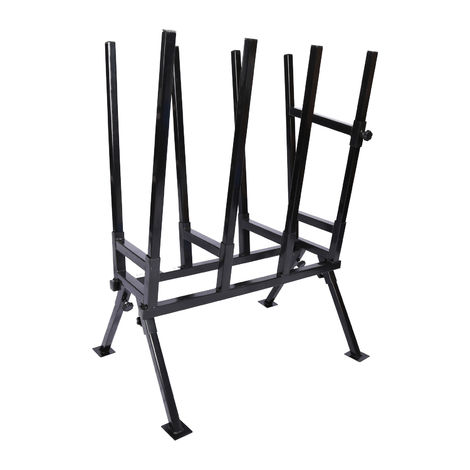 Foldable Saw Horse 760x500x1030mm with Locking Clamp for Various Log Sizes