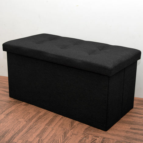 Foldable Storage bench,storage ottoman,shoe storage bench - Different colours
