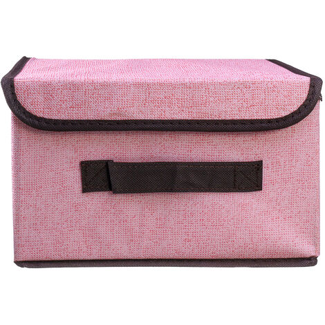 Foldable Storage Box Organizer Cover Fabric Cube Basket