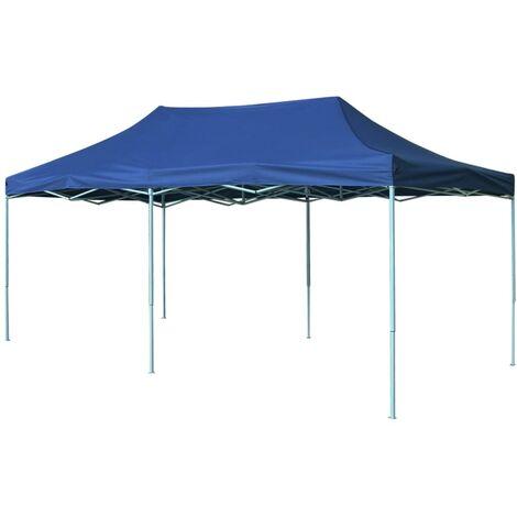 Foldable Tent Pop-Up 3x6 m Blue