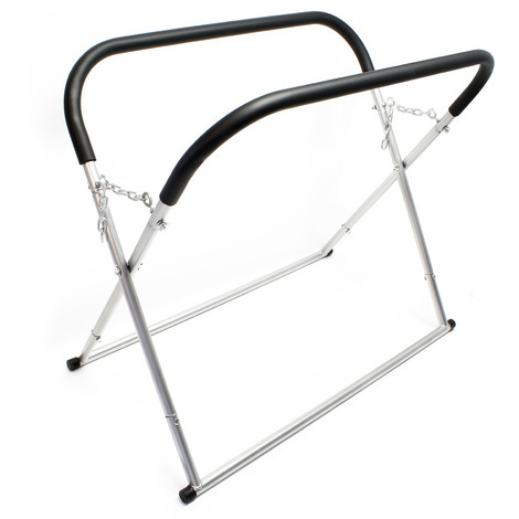 Foldable Windscreen- and Assembly Stand hight-adjustable up to 100 cm Loading capacity 50 kg