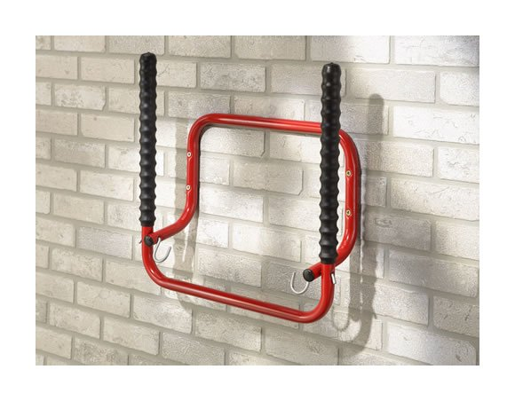 Image of A Place For Everything - Fold up Bike and Helmet Rack