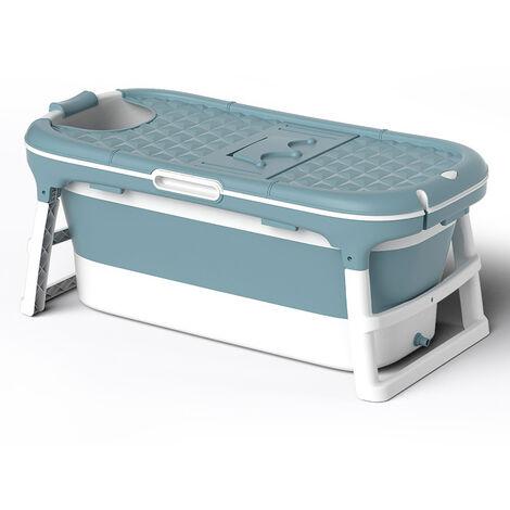 Folding Bathtub Indoor Warm Spa Sauna Soaking Bucket