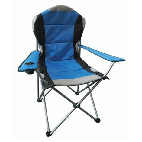 Folding Camping Chair - Blue