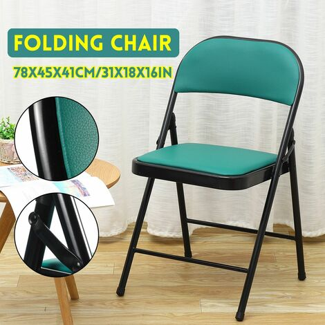 Folding chair breathable comfortable hollow chair backrest chair with writing board business meeting chair training