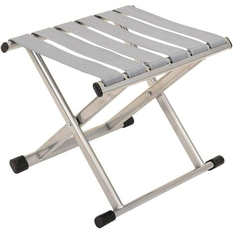 Folding Chair Folding Chair Portable Outdoor Stool Folding Thickening Mazha Fishing Stool Folding Simple Small Silver Bench (Small)