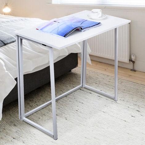 Folding Computer Desk White