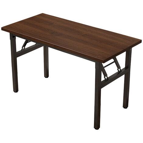 """main image of """"Folding Desk Computer Desk Laptop Mdf+steel Frame 120x60x75cm"""""""