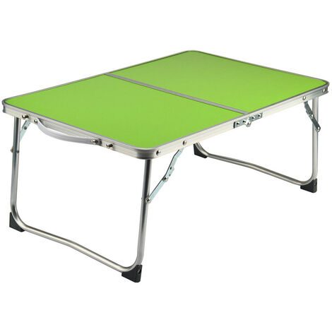 Folding Desk Table Computer Table Laptop Bed Desk 61x41x27cm Green