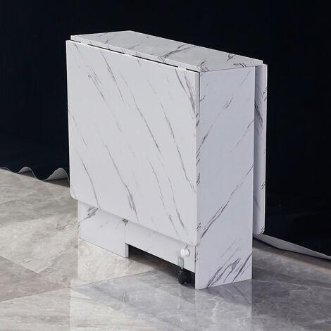 Folding Expandable Table Desktop Study Dining Workstation