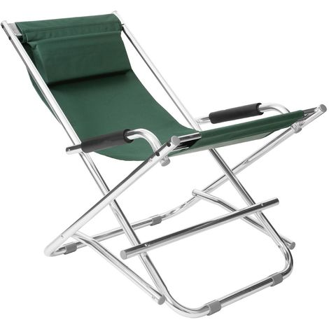 Folding garden chair,aluminium frame, polyurethane covering