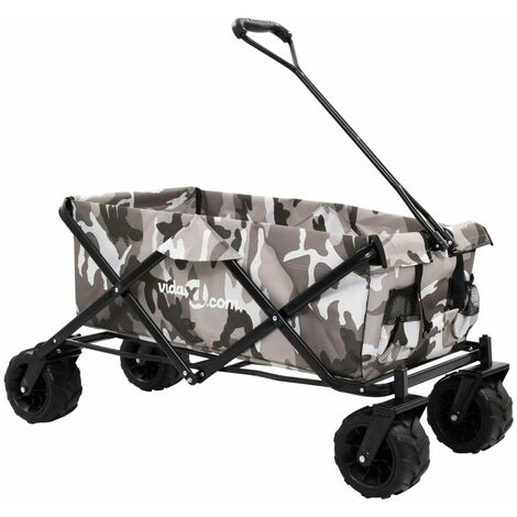 Folding Hand Trolley Metal Camouflage