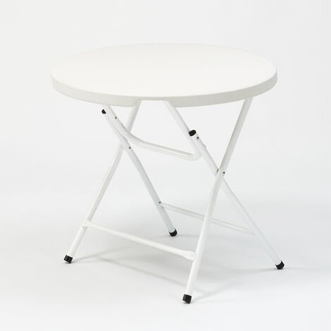 Folding plastic table 80x74 for garden and camping ARTHUR 80.