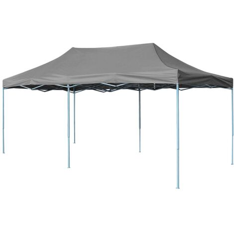 Folding Pop-up Partytent 3x6 m Anthracite - Anthracite