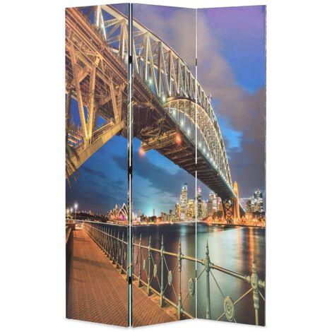 Folding Room Divider 120x170 cm Sydney Harbour Bridge