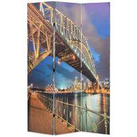 Folding Room Divider 120x180 cm Sydney Harbour Bridge