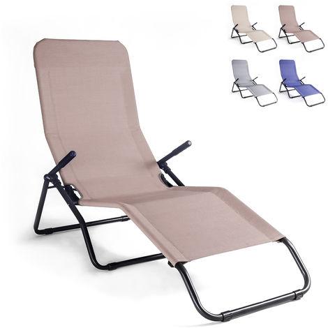 Folding steel beach and garden bed PASHA