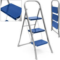 Folding Steps Step Ladder Household Stepper Home 3 Steps 150 Kg