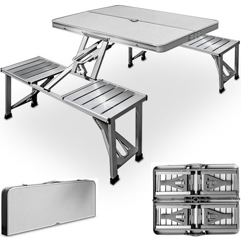 Folding Table And Chairs Set Camping Picnic Dining Furniture Outdoor