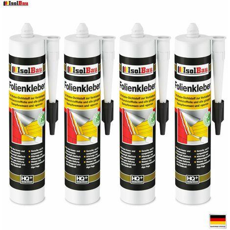 Folienkleber 4 x Dichtkleber Dichtmasse Dampfbremse Dampfsperre Qualität