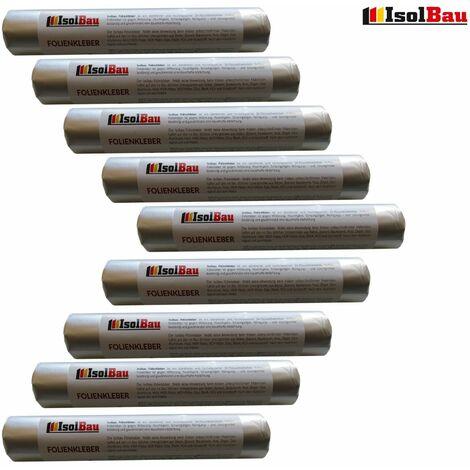 Folienkleber 9x 600ml Original Dichtkleber Folien Kleber Dampfsperre Folienband