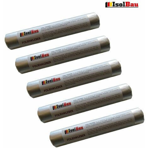 Folienkleber MS Polymer EPDM Ral PROFI Folien Fensterband Kleber 5 x 600 ml