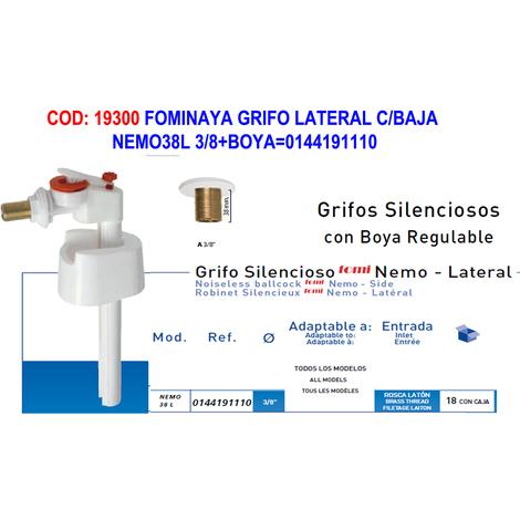 FOMINAYA GRIFO LATERAL C/BAJA NEMO38L 3/8+BOYA=0144191110