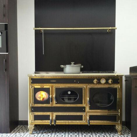 Fond de Hotte / Crédence Noir RAL 9005 de 1,5 mm H 20 cm - Plusieurs Largeurs disponibles