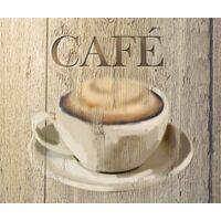 Fond de hotte en verre Café WENKO