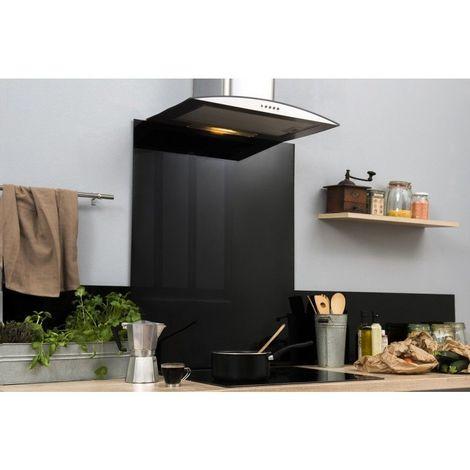 Fond de hotte - Noir - 65 cm x 90 cm (HxL)