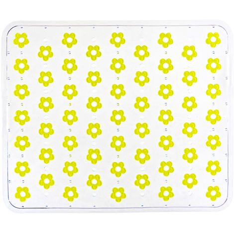 Fond d'évier Fleurelle jaune WENKO