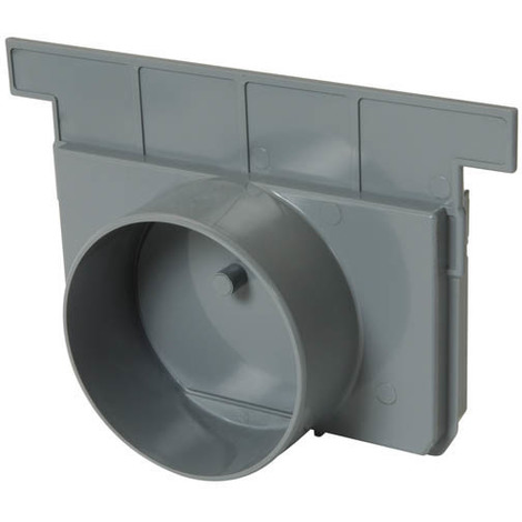 Fond/naissance pour CAN188 / CAN15BC / CAN15BF Ø100 gris