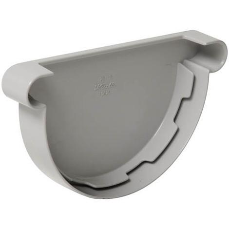 Fond symétrique gouttiere a coller 25 gris