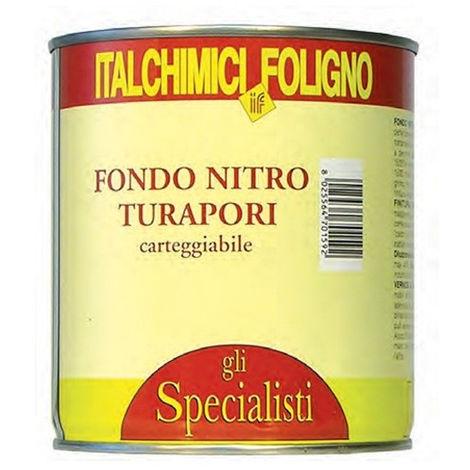 fondo nitro turapori trasparente 750ml 70159