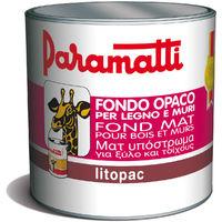 FONDO OPACO LITOPAC PARAMATTI LEGNO MURO LITRI 2,5