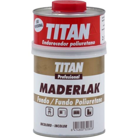 Fondo PU Incoloro Maderlak Titan 750 ml