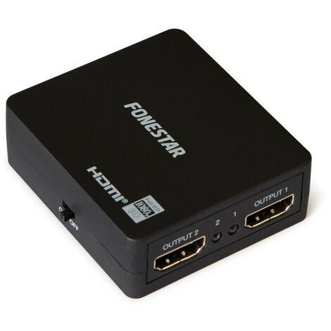 Fonestar Distribuidor Splitter HDMI de 2 salidas FO-532U-DI