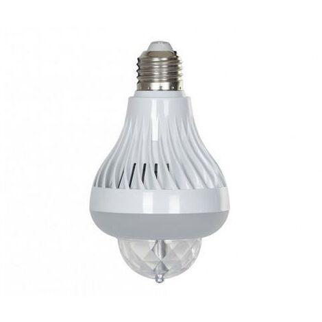 Fonestar Efecto LED Bombilla E27 3x1W RGB + Blanco