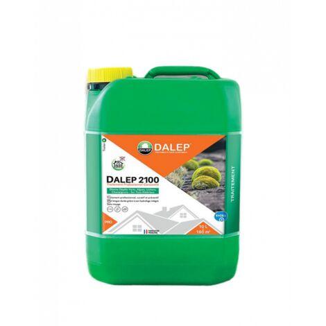 Fongicide et Antimousse Professionnel Concentré DALEP 2100 Bidon de 10 Litres - 121 010
