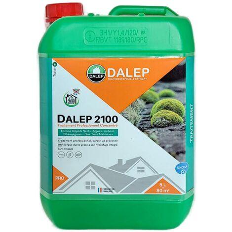 Fongicide et Antimousse Professionnel Concentré DALEP 2100 Bidon de 5 Litres - 121005